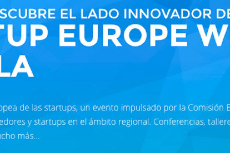 STARTUP EUROPE WEEK Sevilla